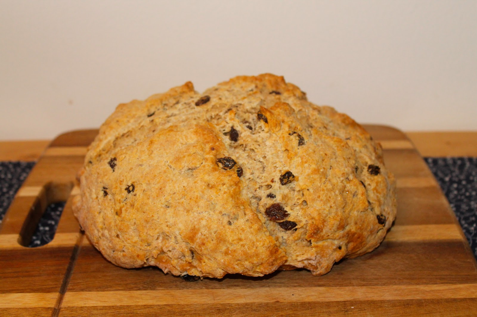 Savory Moments: Irish soda bread with whiskey raisins and ...