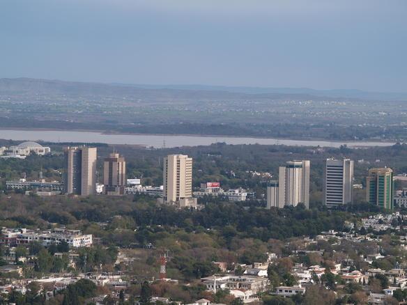 High-Rise buildings wallpaper of Islamabad.