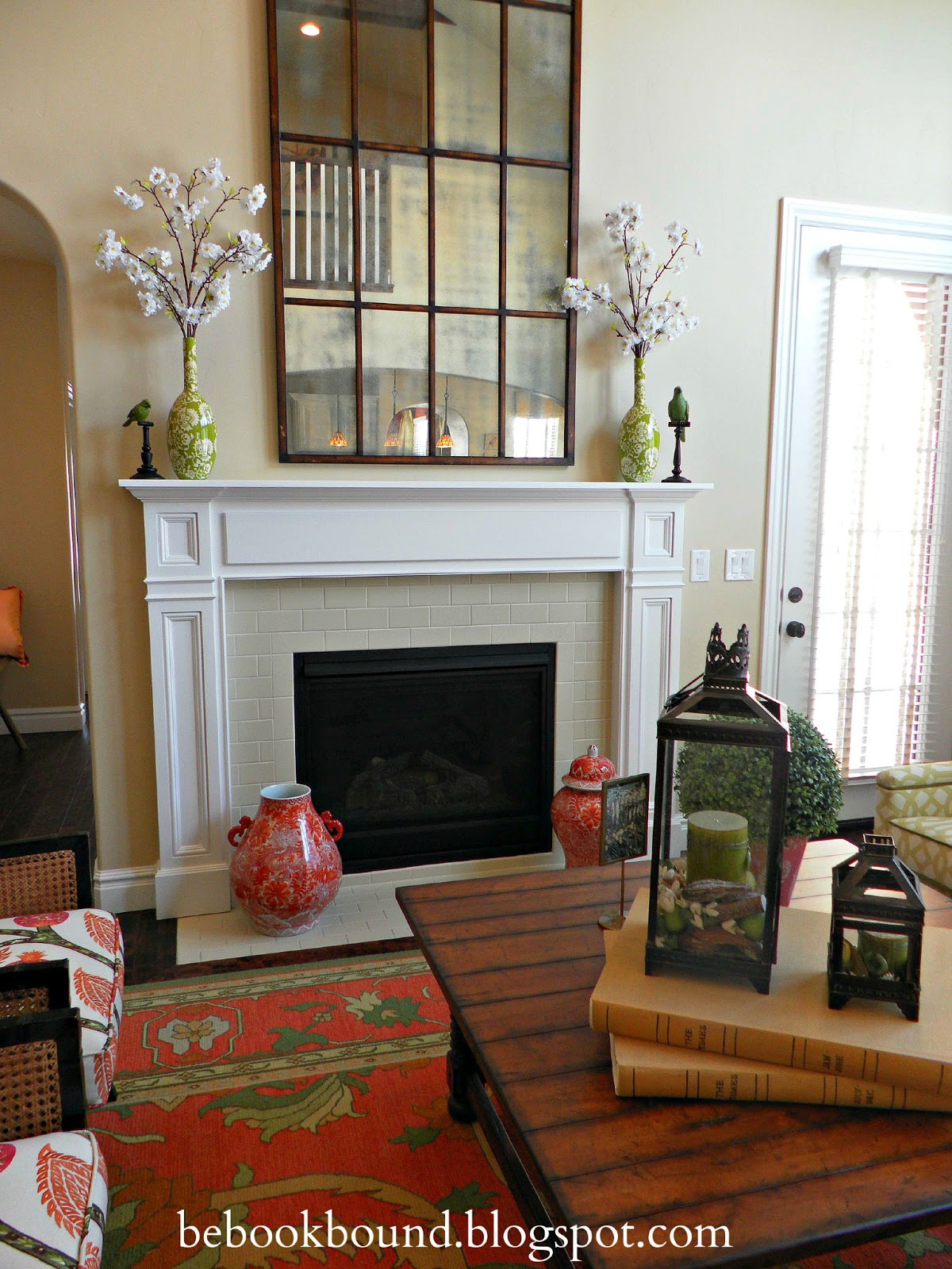 The family room is the perfect fresh and organic complement to the  title=