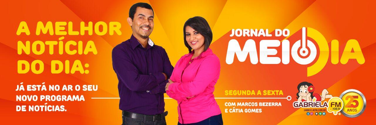 JORNAL DO MEIO DIA DA GABRIELA FM