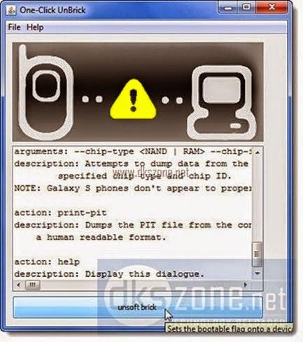 ... untuk pulihkan ponsel android samsung dari keadaan brick (mati total