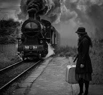 Να μάθεις να φεύγεις... Να φεύγεις από όσα νόμισες γι' αληθινά, μήπως φτάσεις κάποτε σ' αυτά.