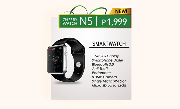 Cherry Mobile 'Cherry Watch N5' Smartwatch Looks A Lot ...