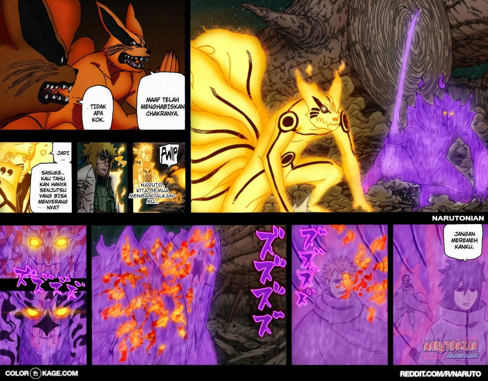 "Naruto Chapter 648 Full Color - ""Impian Seorang Shinobi"" - Samehadaku ..."
