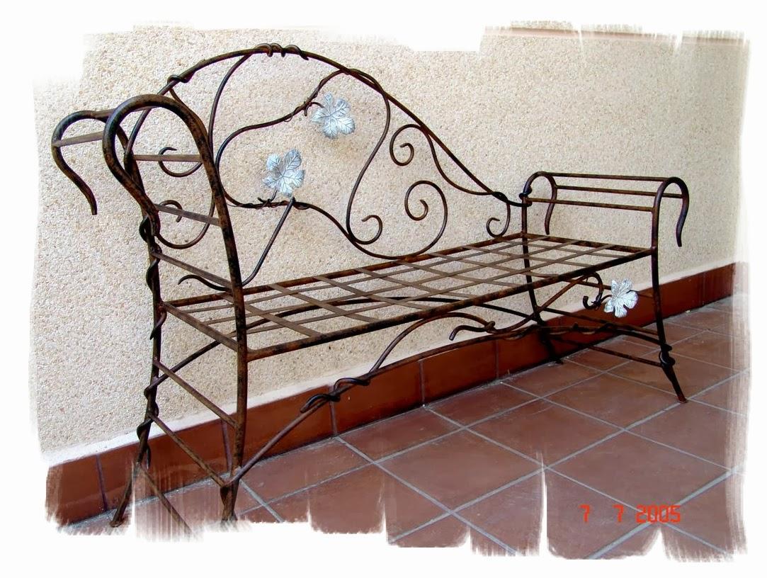 Forja Art Stica Y Acero Corten Madrid Olaya Herrer A Y Forja  # Muebles Hierro Forjado Herreria Artistica