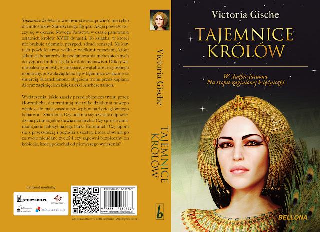 """Już niebawem """"Tajemnice królów"""" Victorii Gische pod patronatem medialnym """"Subiektywnie o książkach""""!"""