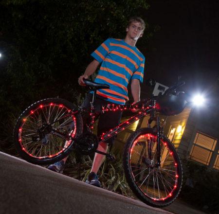 Bike Lightning. Je fiets helemaal verlicht met LED-lampjes ...