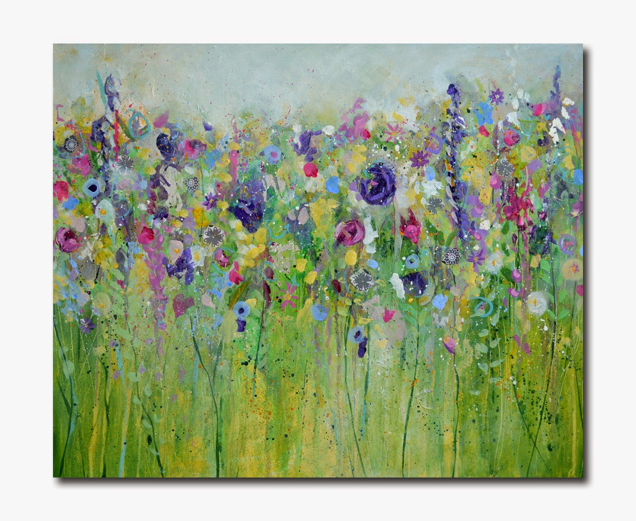 Spring Meadow - Original Painting