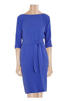 DVF Maja dress in Royal Blue