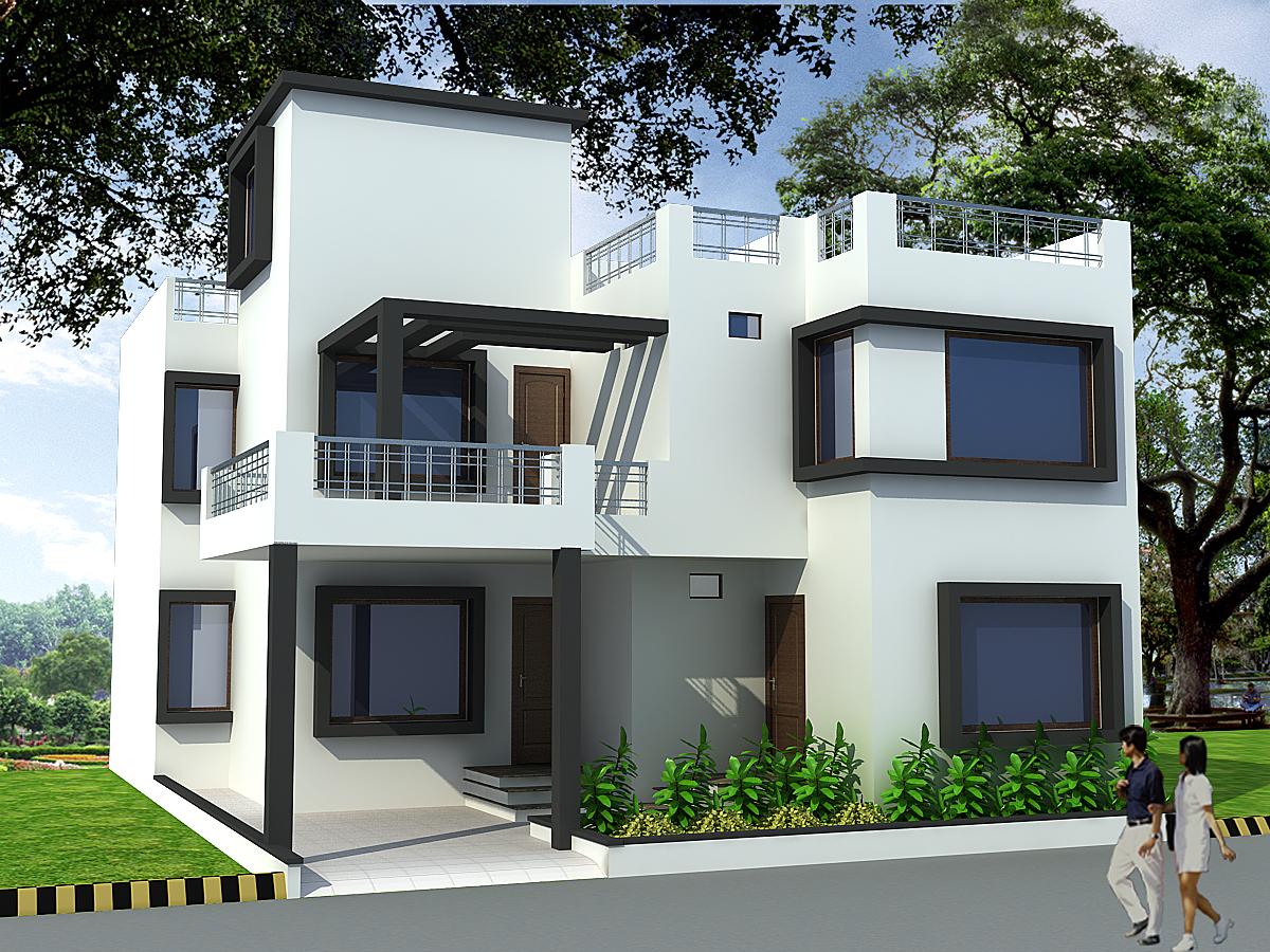 Indian ghar elevation joy studio design gallery best for Indian ghar design