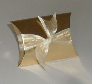 Organza ribbon invitations