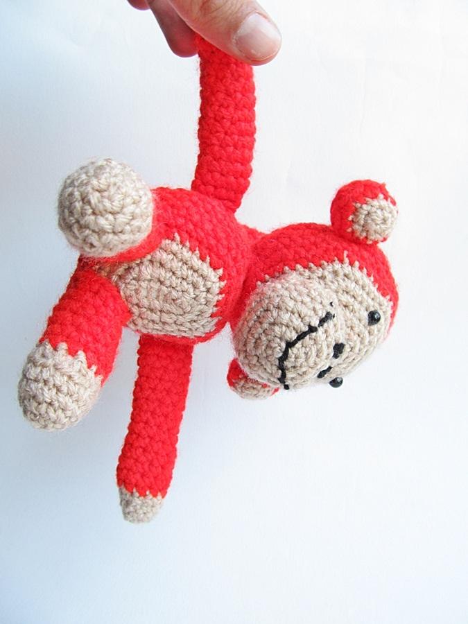 {Monkey Business - A free crochet pattern} - Little Things ...
