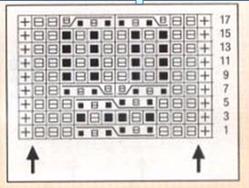 схема вязание спицами