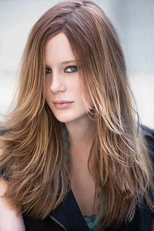 женская стрижка фото на длинные волосы