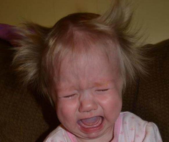 Babies Bad Hair Day