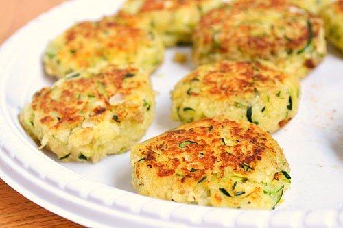 Zucchini Cakes | Just Putzing Around the Kitchen