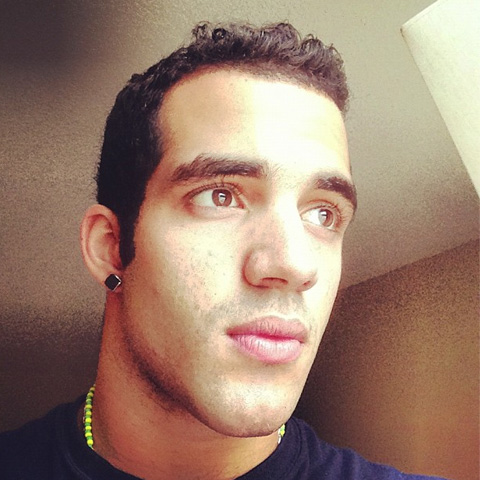 Sexy Olympic gymnast Daniel Leyva shared a pic of himself on Instagram