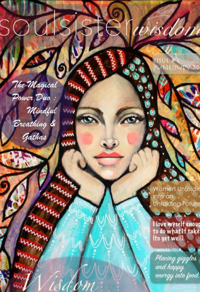 Featured Cover Soul Sister Wisdom E- Magazine