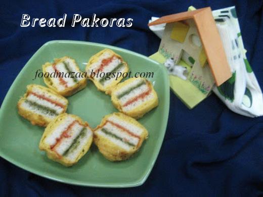 bread ja pakora (bread pakoras)