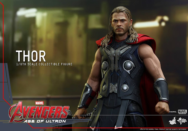 Hot Toys Collectible Thor Avengers Age of Ultron