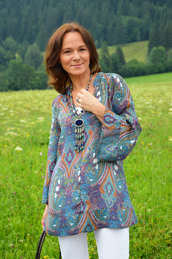 Boho style for mature women street style over 60 over 50 and fabulous darlin 20 new haircuts Bohemian fashion style pinterest