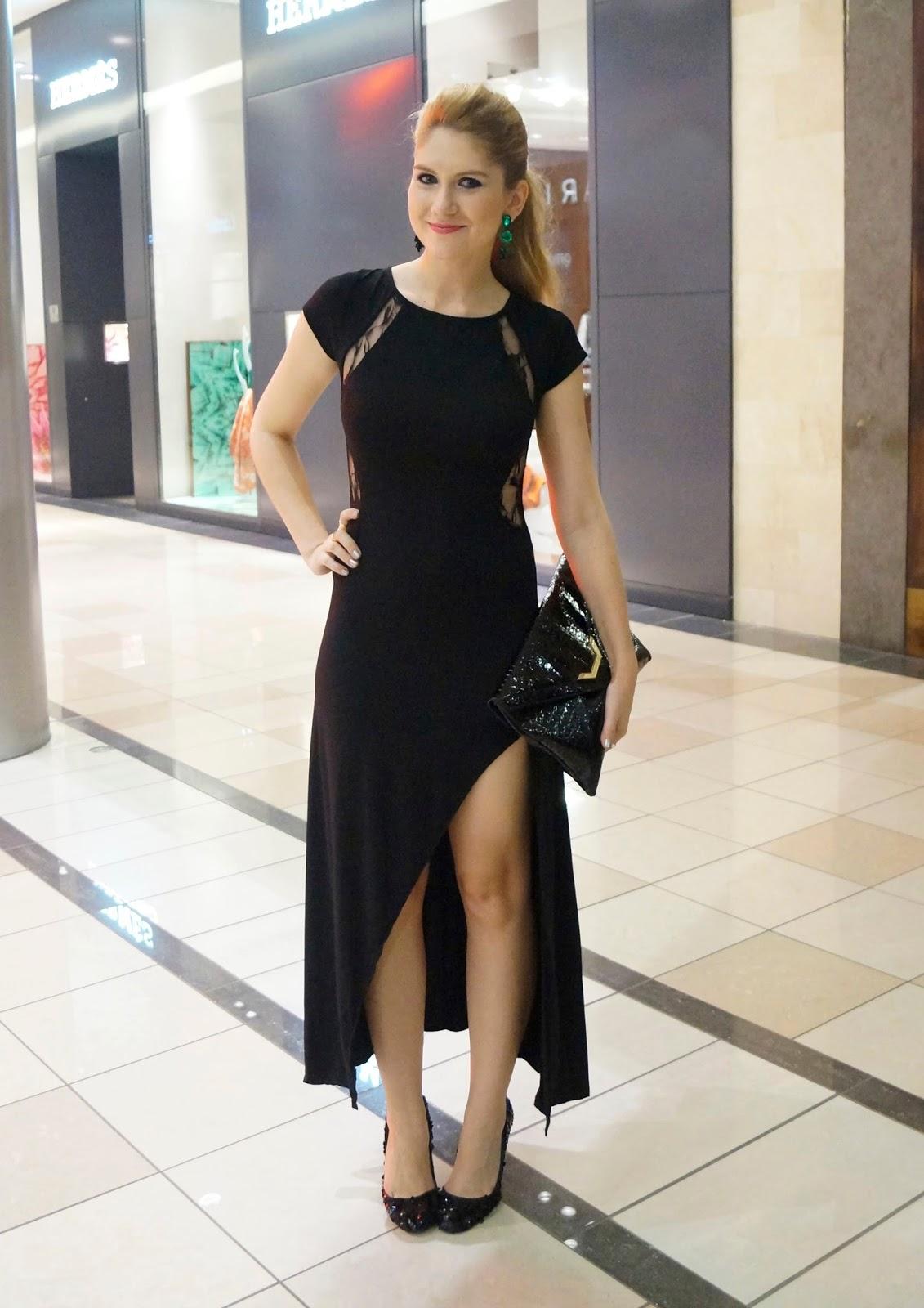 Elegant Black Dress Outfit
