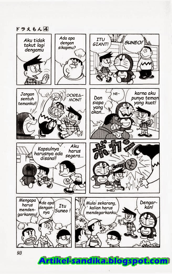 Komik doraemon bahasa indonesia - kapsul pertemanan