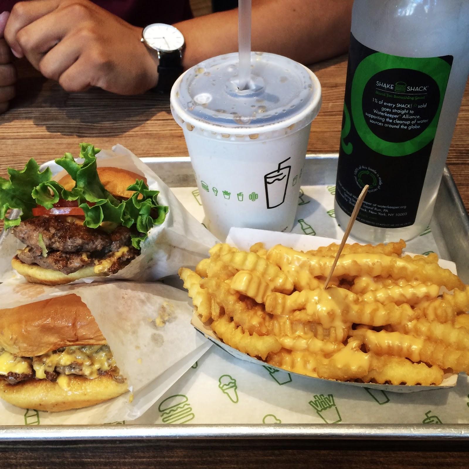 shake shack foodie pic