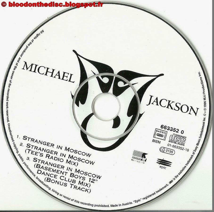 Stranger In Moscow CD Single