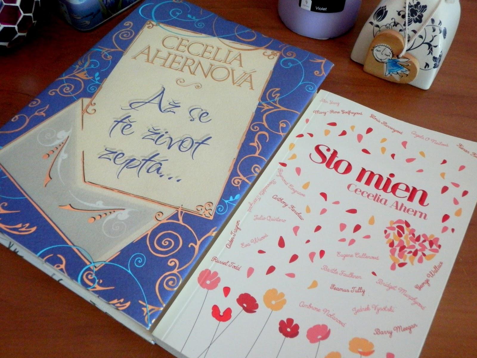 Cecelia Ahern, Ahernová, knihy