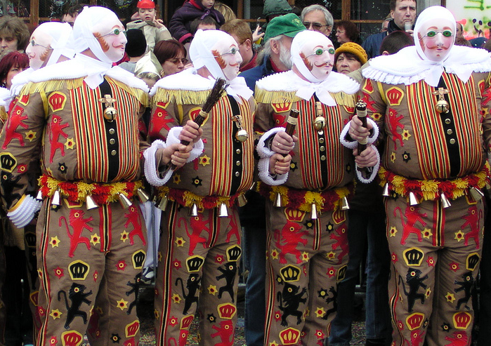 Carnival of Binche in Belgium, how is celebrated