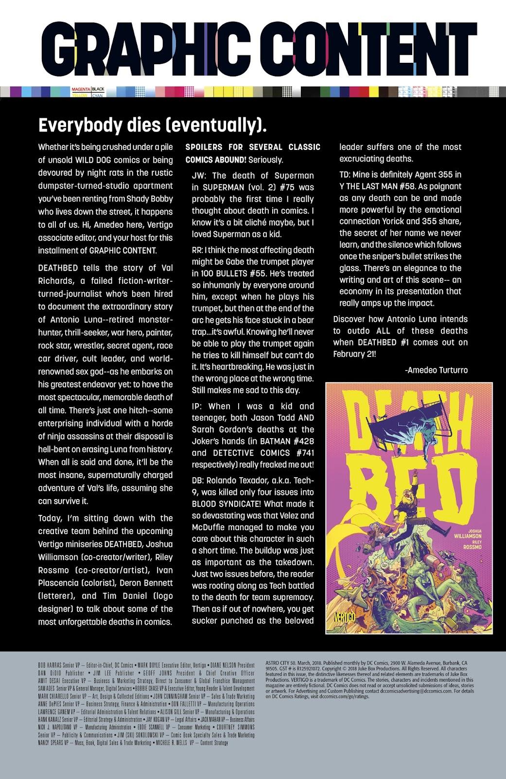 Read online Astro City comic -  Issue #50 - 27