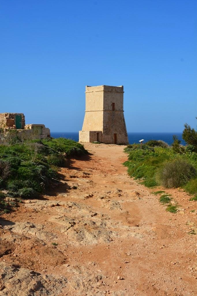 Ghajn Tuffieha Tower Malta