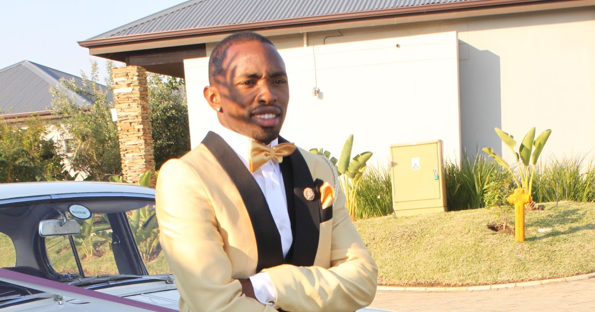 South African Artists Bernard Parker Weds His Bride Wendy