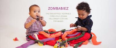 Zombabiez e il pigiamino Zombie