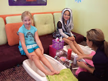 Girls Manis Pedis Dance Party And Slumber