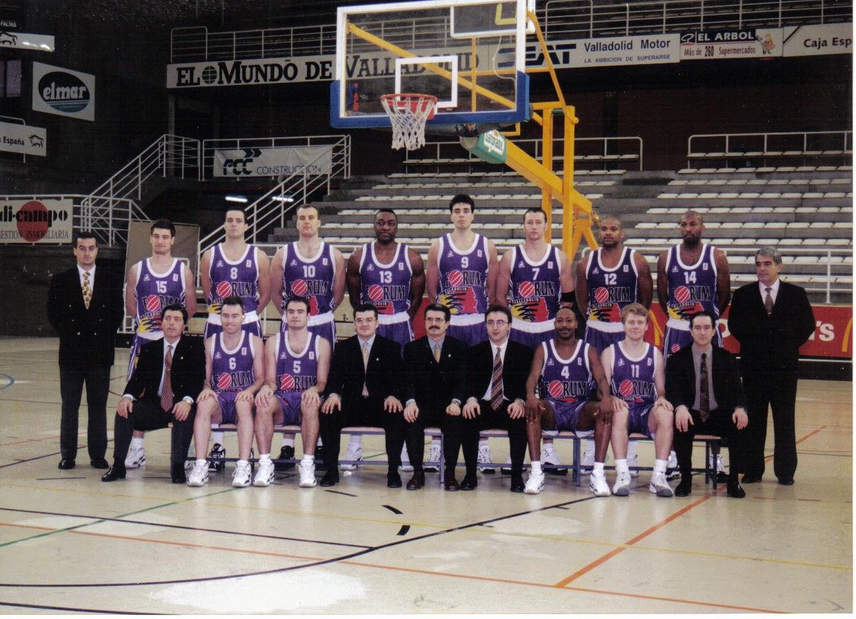 FORUM VALLADOLID 1996-1997. Liga ACB