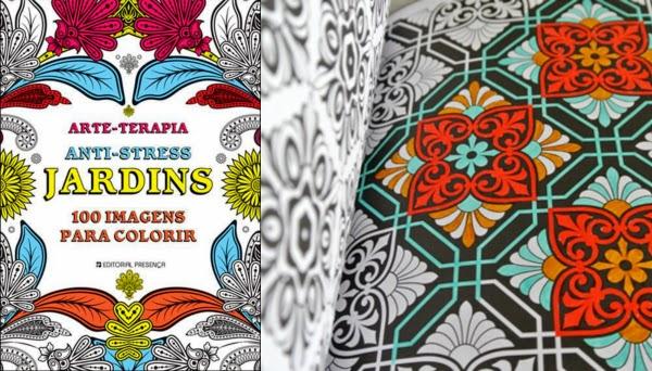 Sem transtorno! Livros de colorir para adultos a nova onda para