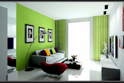 warna cat interior rumah minimalis modern
