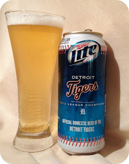 Detroit Tigers Miller Lite Beer