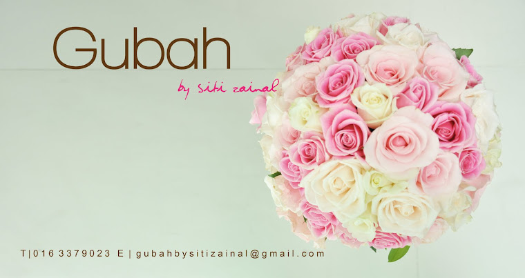 Gubah by Siti Zainal | Official hantaran decorator for Zaifie Zainal Creation