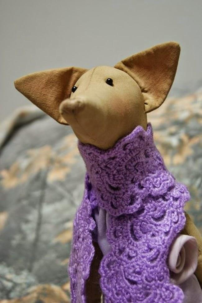 Tilda Fox from Tildas Vintereventyr book by Tone Finnanger