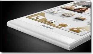 Компания Huawei анонсировала смартфон Huawei Ascend P6.
