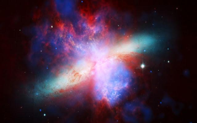 Galaxia del Cigarro M82 Fotos del Espacio - Imagenes del Universo