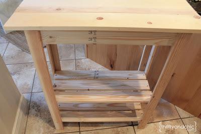 customizable storage table