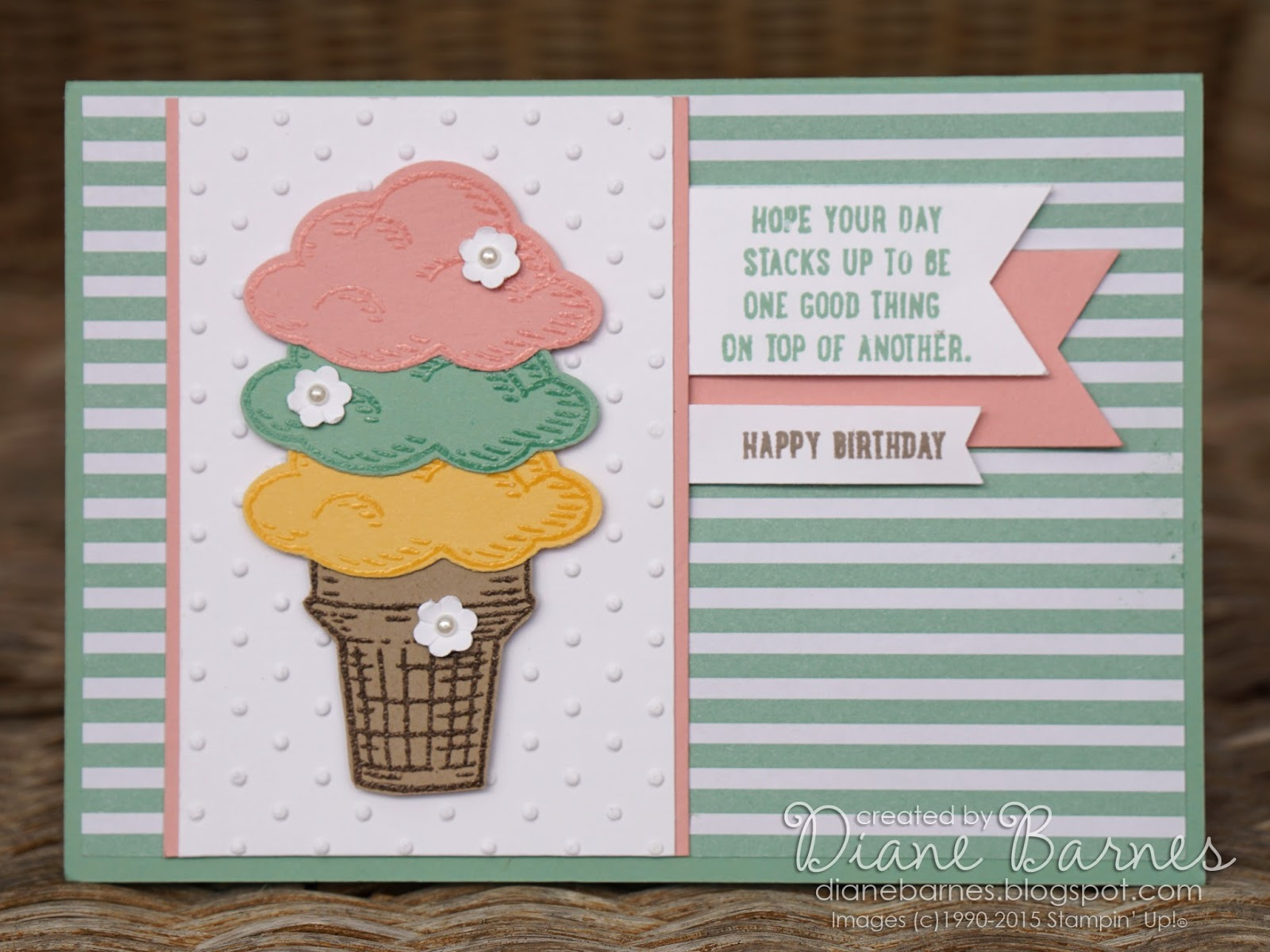 colour me happy Sprinkles of Life ice cream birthday cards – How to End a Birthday Card