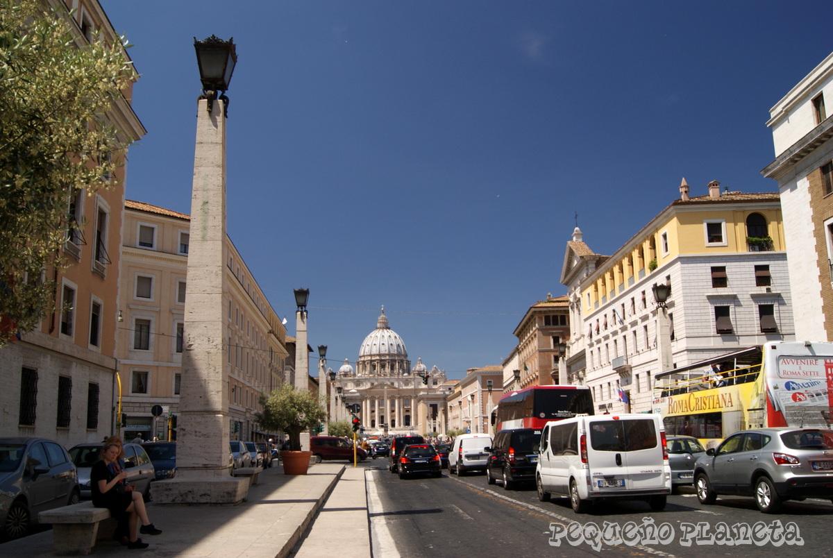 Peque o planeta 3 d as en roma en mayo 2015 d a 2 parte i for Oficina turismo roma