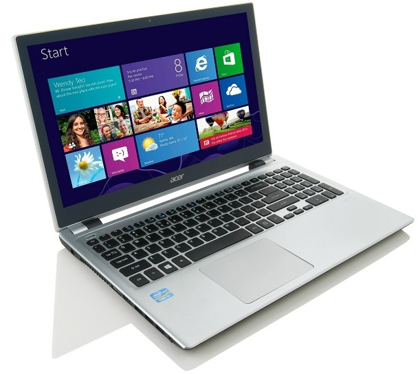 ... touch-screen Acer laptop . An Acer touch-screen Windows 8 laptop has