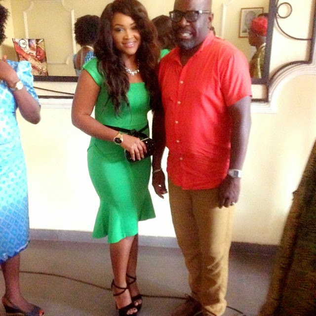 Mercy Aigbe and Funsho Adeolu