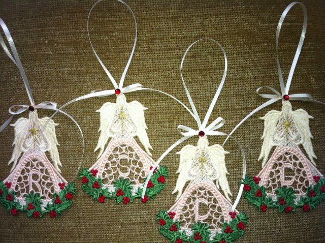 Machine Embroidery Free Standing Lace Angels Embroidery It